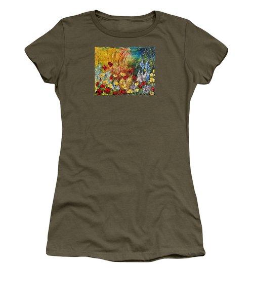 The Field Women's T-Shirt (Junior Cut) by Teresa Wegrzyn