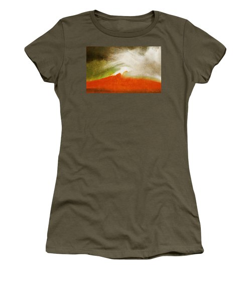 The Fire Mountain - Cotapaxi Women's T-Shirt