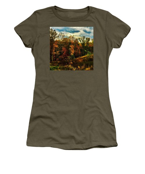 The First Days Of Fall Women's T-Shirt (Athletic Fit)