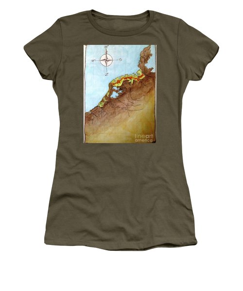 The First Frisians Women's T-Shirt (Junior Cut) by Annemeet Hasidi- van der Leij