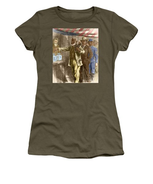 The First Vote 1867 Women's T-Shirt
