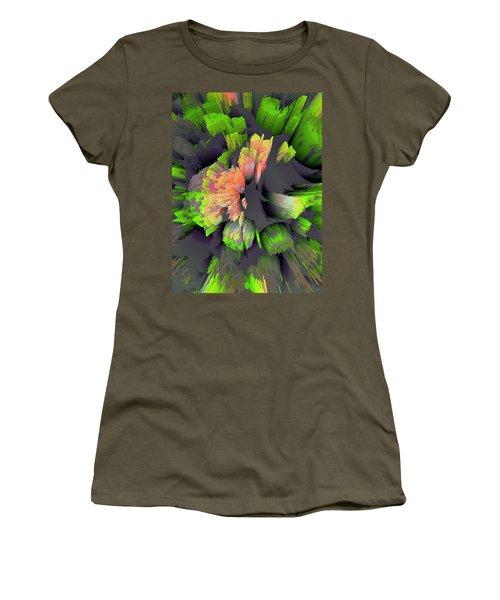 The Flower Factory 2 Women's T-Shirt (Junior Cut) by Moustafa Al Hatter