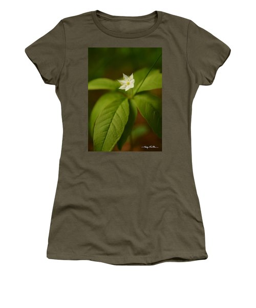 The Flower Of The Dark Woods Women's T-Shirt (Athletic Fit)