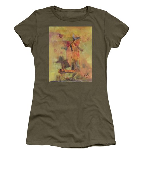 The Flying Dutchman Women's T-Shirt (Athletic Fit)