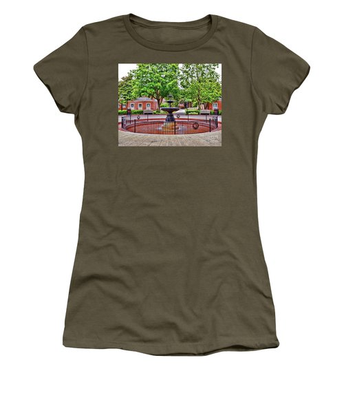 The Fountain At Radford University Women's T-Shirt