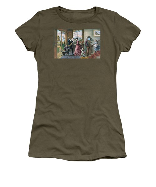 The Four Seasons Of Life  Middle Age Women's T-Shirt