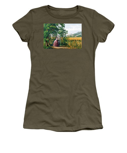 The Four Seasons Of Life  Youth  The Season Of Love Women's T-Shirt