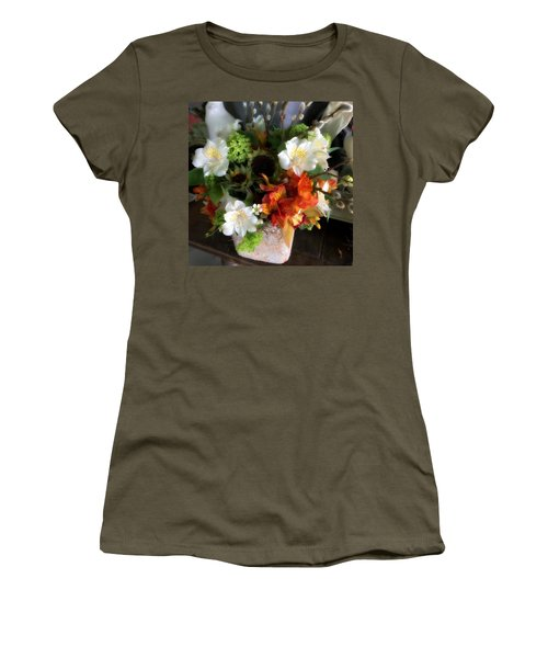 The Gift Of Giving Women's T-Shirt (Junior Cut) by Peggy Stokes