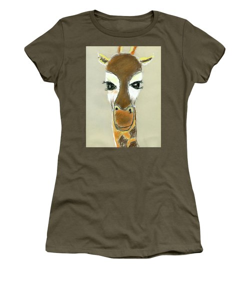 The Giraffe Women's T-Shirt (Athletic Fit)