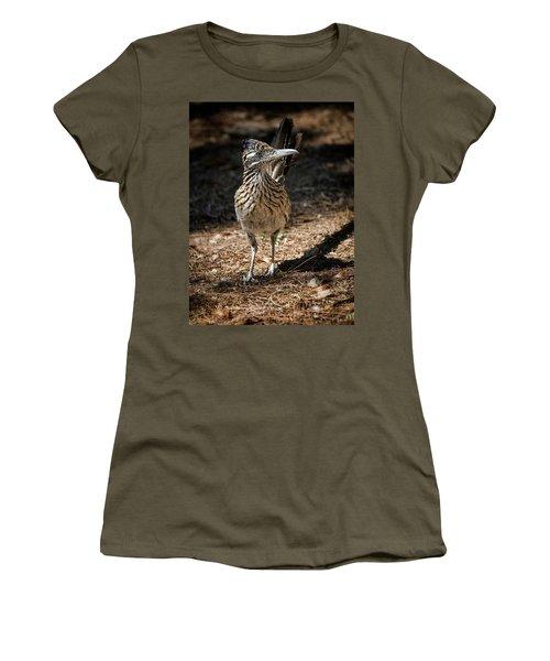 The Greater Roadrunner Walk  Women's T-Shirt (Athletic Fit)