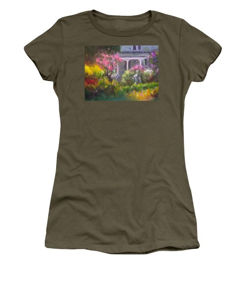 The Guardian - Plein Air Lilac Garden Women's T-Shirt