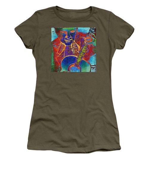 The Guitar Man - Two Women's T-Shirt