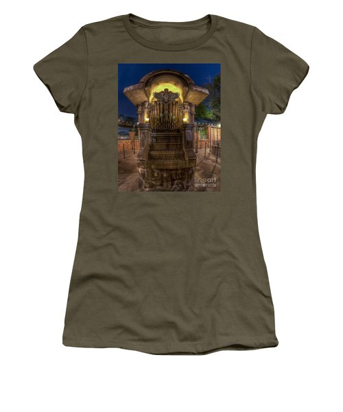 The Haunted Organ Women's T-Shirt (Athletic Fit)