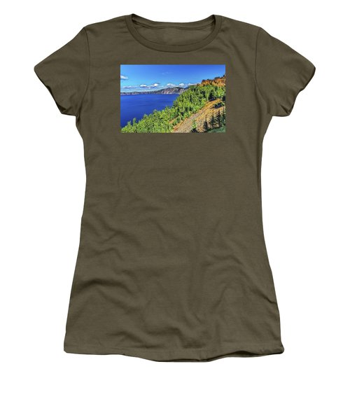 The Hills Of Crater Lake Oregon Women's T-Shirt