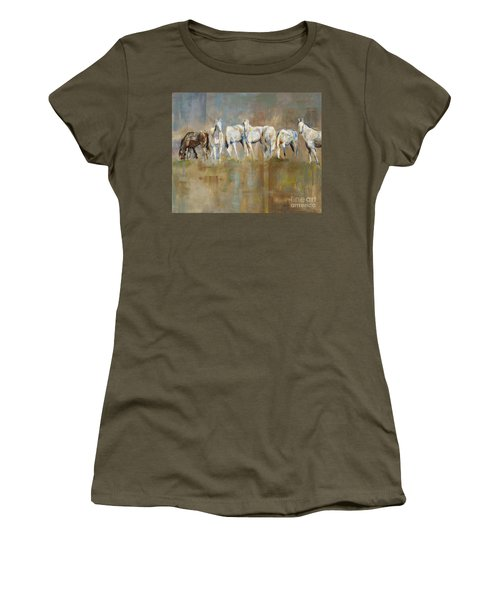 The Horizon Line Women's T-Shirt (Athletic Fit)