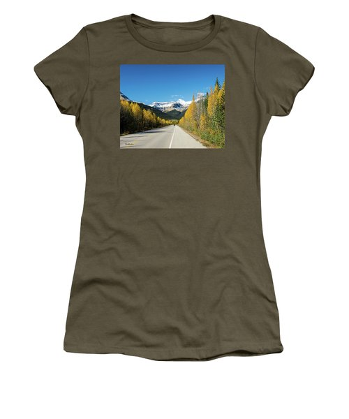 The Icefields Parkway Women's T-Shirt