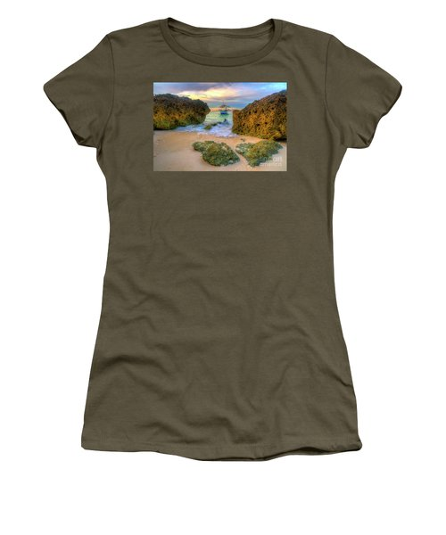 Women's T-Shirt (Junior Cut) featuring the photograph The Inbetweener by Yhun Suarez