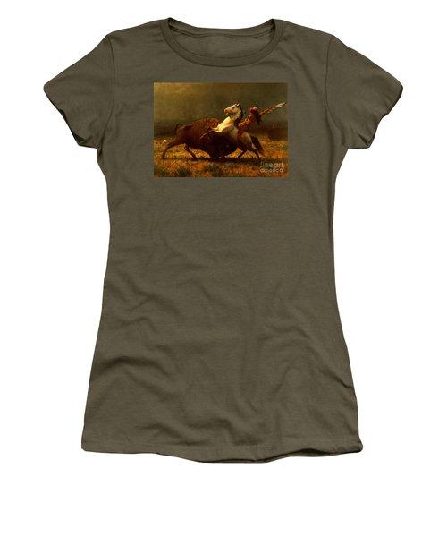 The Last Of The Buffalo Women's T-Shirt