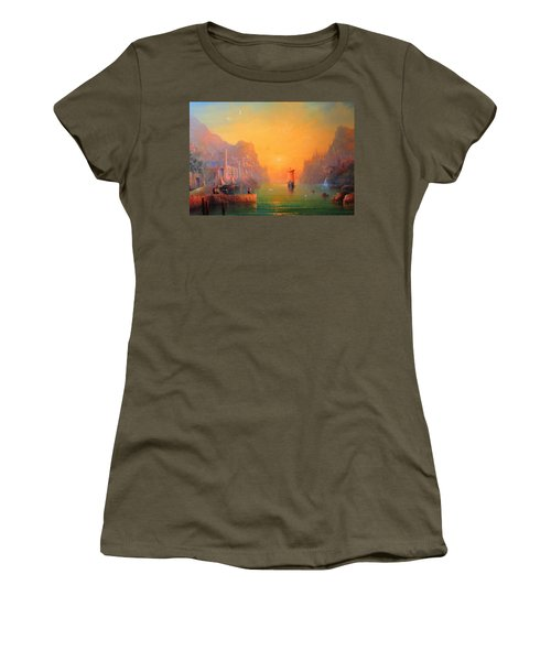 The Leaving Women's T-Shirt (Athletic Fit)