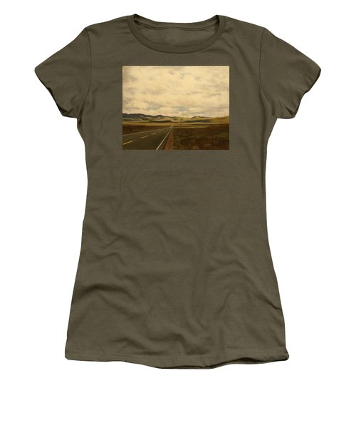 The Loneliest Road Women's T-Shirt (Athletic Fit)