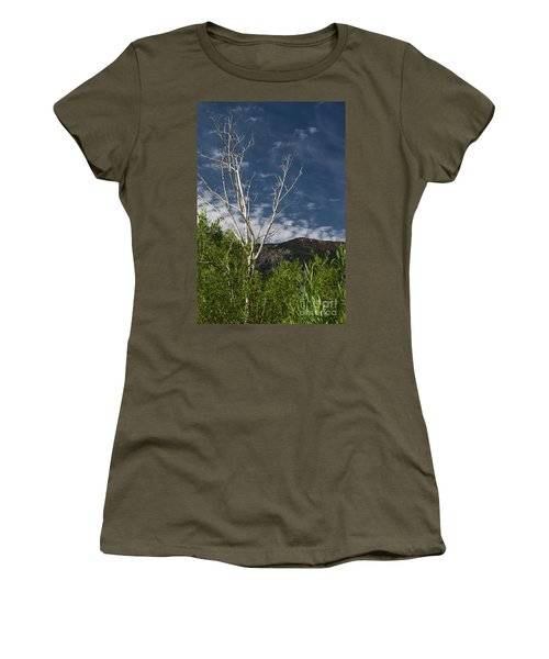The Lonely Aspen  Women's T-Shirt
