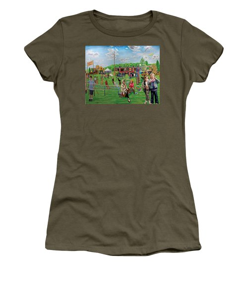The Long Island Fair At Old Bethpage Restoration Women's T-Shirt