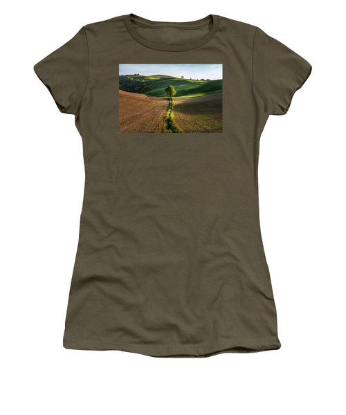 The Lost Love Tree Women's T-Shirt (Athletic Fit)