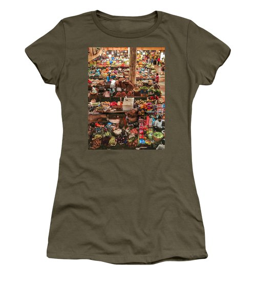 The Market Women's T-Shirt (Athletic Fit)