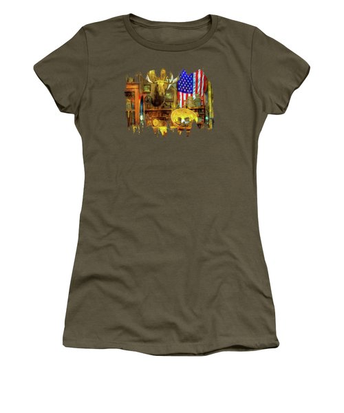 The Moose Women's T-Shirt (Athletic Fit)
