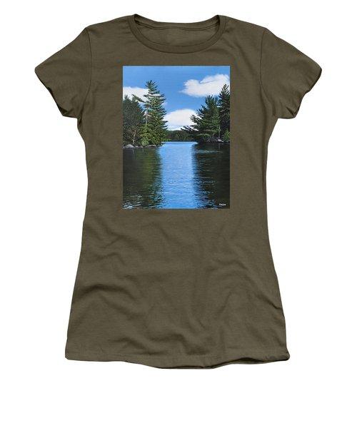 The Narrows Of Muskoka Women's T-Shirt