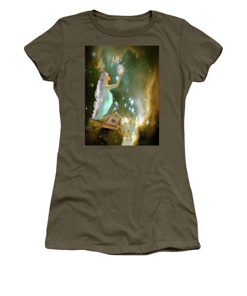The Offering 1 Women's T-Shirt (Junior Cut) by Julie Grace