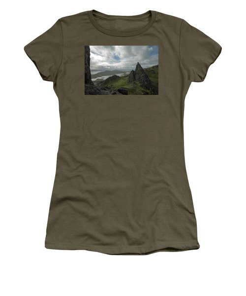 The Old Man Of Storr Women's T-Shirt (Athletic Fit)