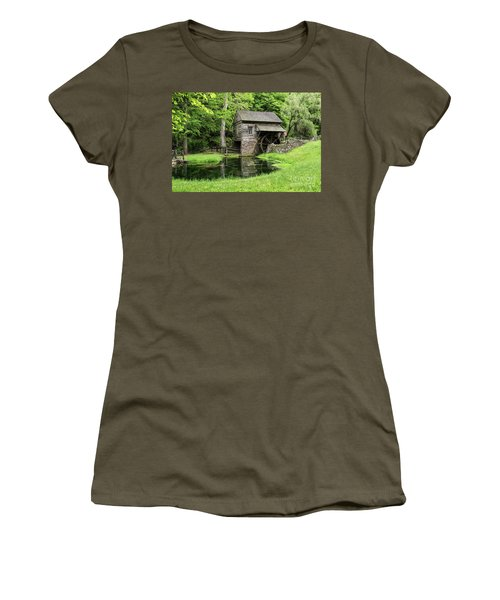 The Old Mill Women's T-Shirt (Junior Cut) by Nicki McManus