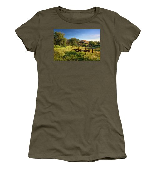 The Old Mower 1 Women's T-Shirt (Junior Cut) by Endre Balogh