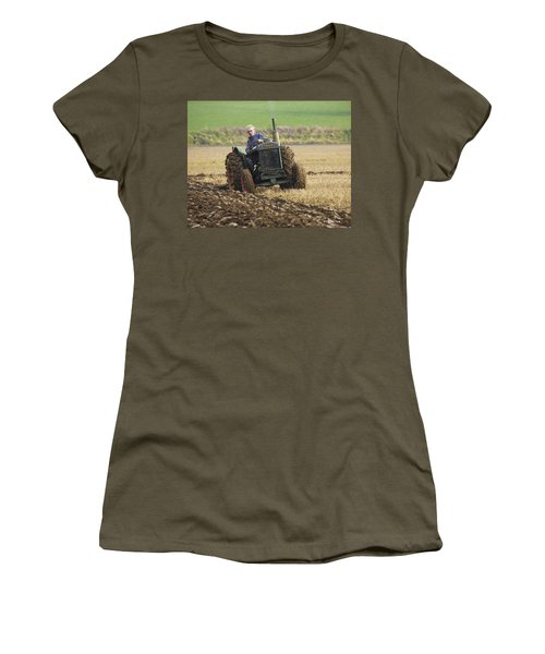 Women's T-Shirt (Junior Cut) featuring the photograph The Old Ploughman by Roy McPeak