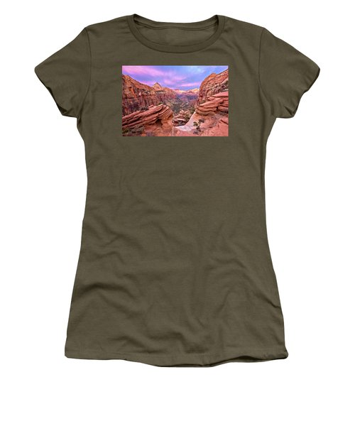 The Overlook Women's T-Shirt (Junior Cut) by Eduard Moldoveanu