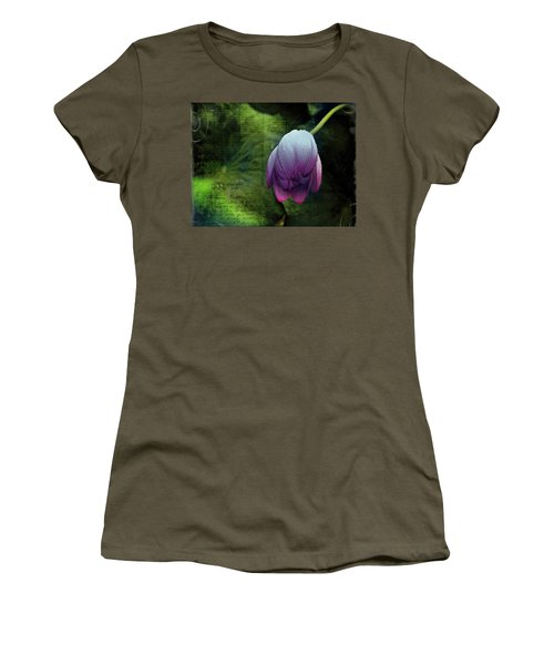 Women's T-Shirt (Athletic Fit) featuring the photograph The Passing Storm by Bellesouth Studio