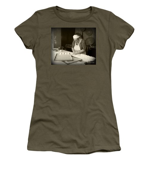 The Pastry Maker, Sardinia Women's T-Shirt (Athletic Fit)