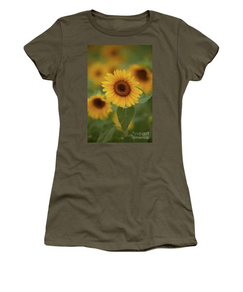 The Patch Of Sunflowers Women's T-Shirt