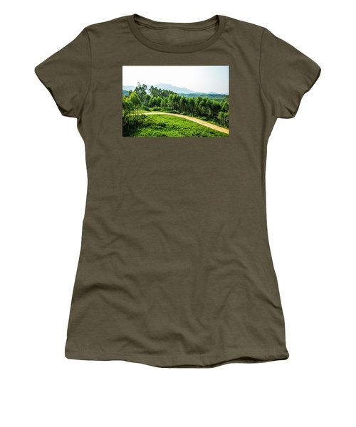 The Path In The Mountain Women's T-Shirt