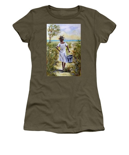 The Path To The Sea Women's T-Shirt