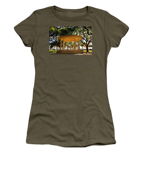 The Pavilion At Battery Park Charleston Sc  Women's T-Shirt