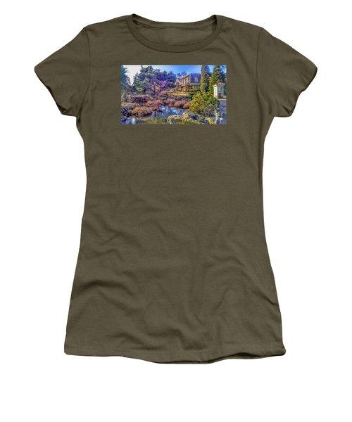 The Pond At Peddler's Village Women's T-Shirt
