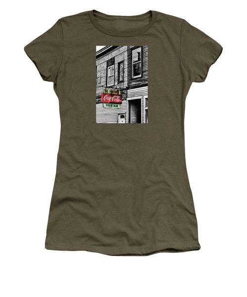The Porthole Portland Maine Women's T-Shirt (Athletic Fit)