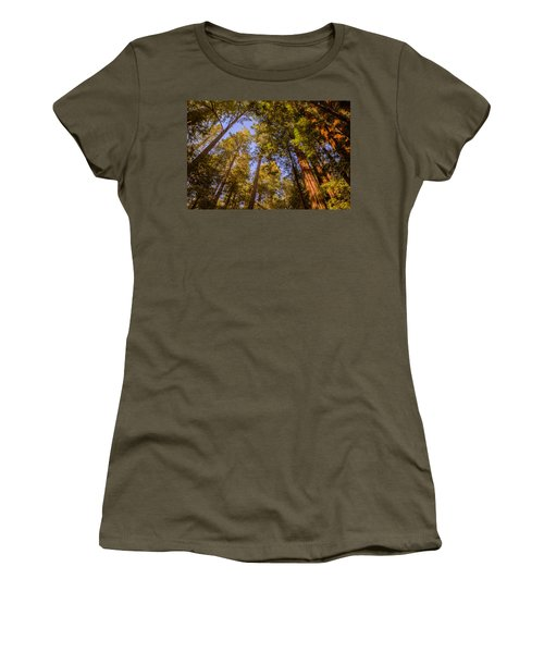 The Portola Redwood Forest Women's T-Shirt