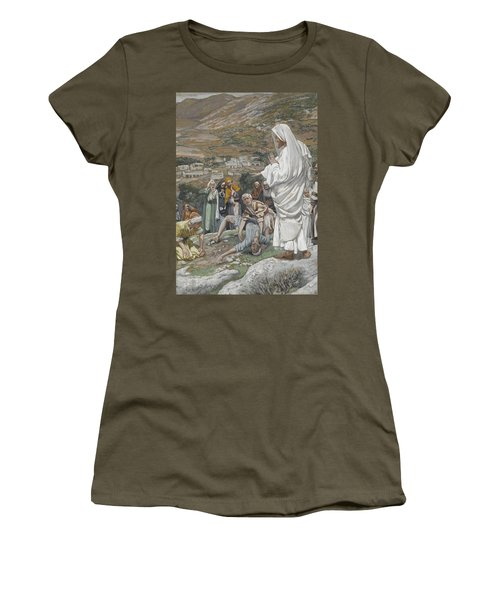 The Possessed Boy At The Foot Of Mount Tabor Women's T-Shirt