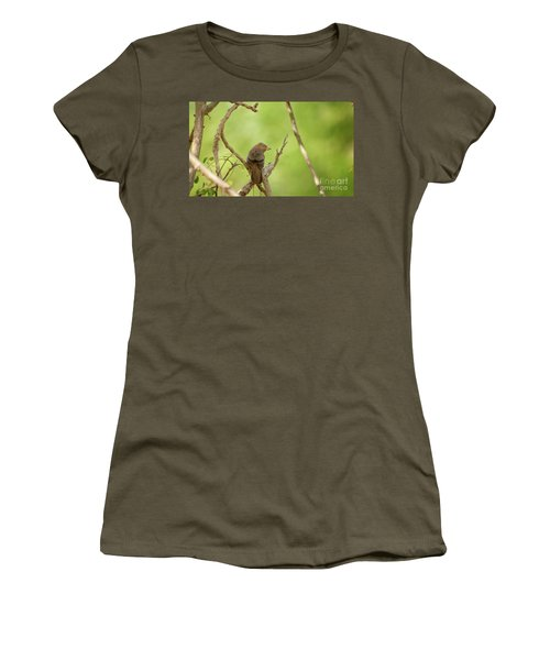 The Pray  Women's T-Shirt (Athletic Fit)