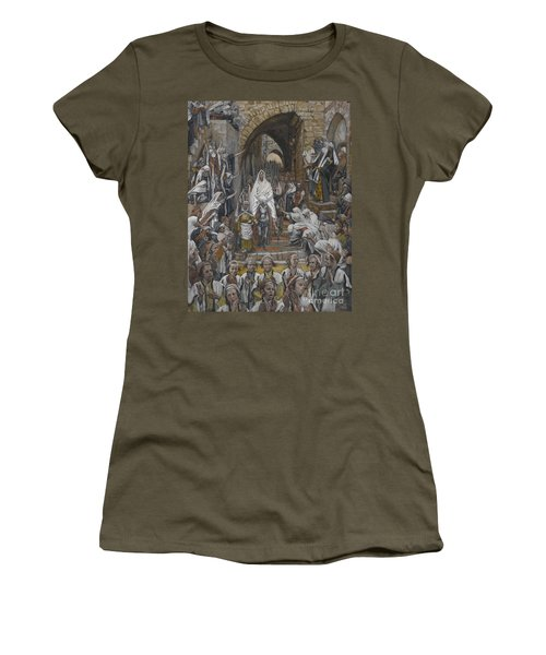 The Procession In The Streets Of Jerusalem Women's T-Shirt