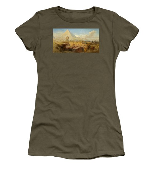The Pyramids Women's T-Shirt