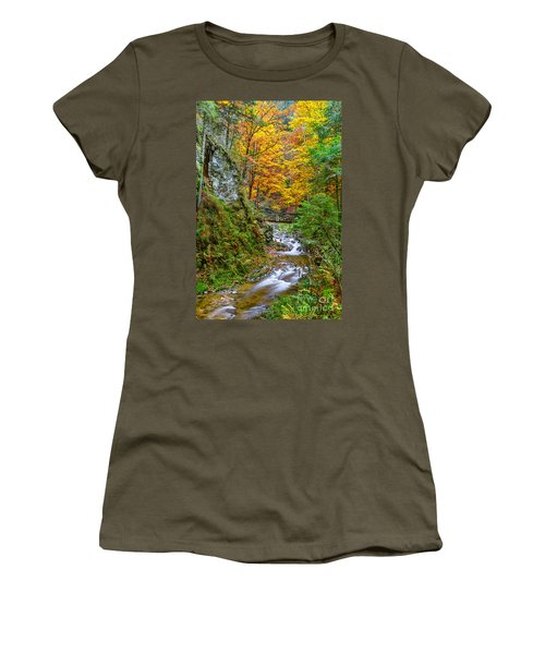 Cascades And Waterfalls Women's T-Shirt